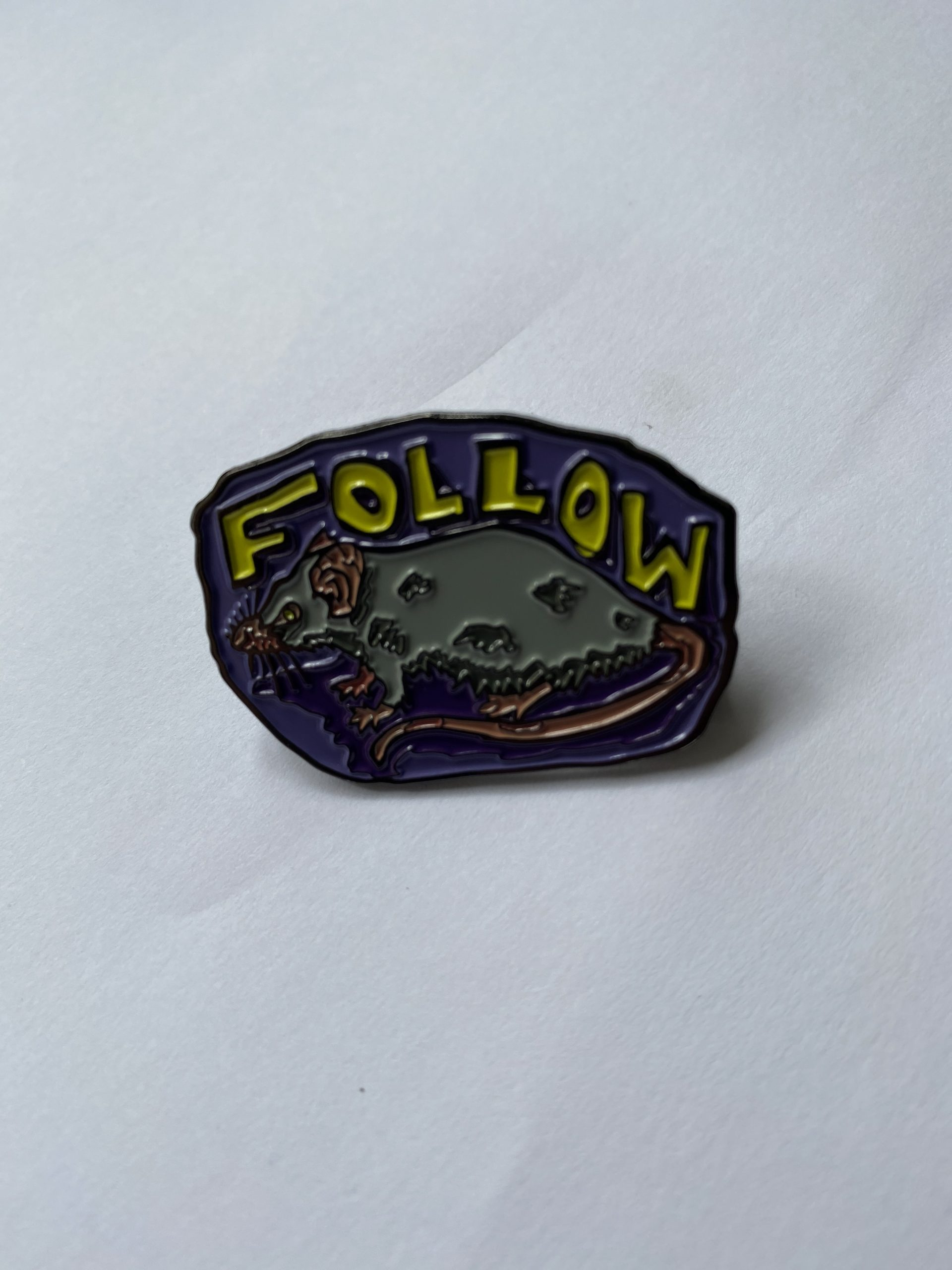Follow the Rats Pin